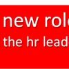 A New Role for the HR Leader