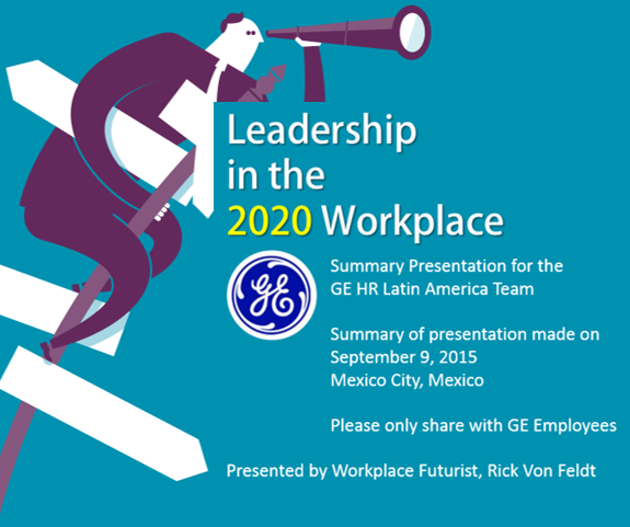 Leadership in the 2020 Workplace